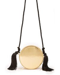 Forever 21 - Round Faux Leather Metallic Crossbody - Lyst