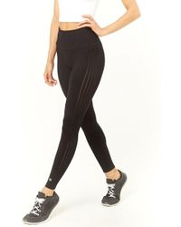 Forever 21 - Active Ladder Cutout Leggings - Lyst