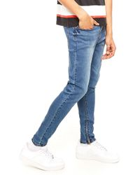 Forever 21 - Ankle Zipper Skinny Jeans - Lyst