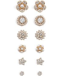 Forever 21 - Statement Stud Earring Set - Lyst