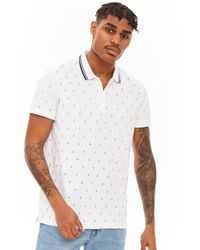 Forever 21 - Anchor Print Polo - Lyst