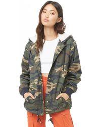 253ea08b3 Women's Camo Print Jacket - Green