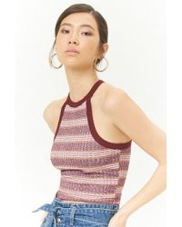 Forever 21 - Marled Stripe Tank Top - Lyst