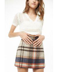 Forever 21 - Plaid Mini Skirt - Lyst