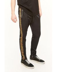 Forever 21 | American Stitch Leopard Stripe Track Pants | Lyst