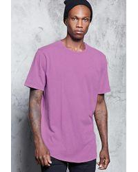 Forever 21 T-shirt effetto sfumato - Viola