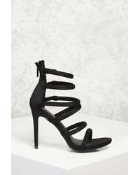 Forever 21 - Caged Stiletto Heels - Lyst