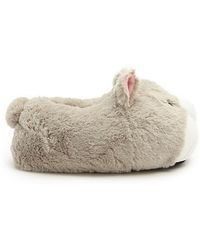 Forever 21 - Faux Fur Wolf Face Slippers - Lyst