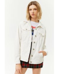 Forever 21 - Corduroy Button-front Jacket - Lyst