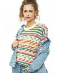 Forever 21 - Multicolor Knit Sweater - Lyst