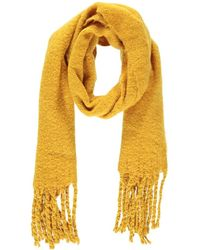 Forever 21 Brush Knit Scarf , Mustard - Yellow