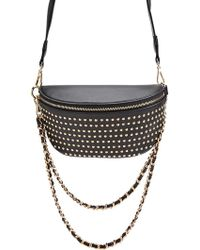 Forever 21 - Studded Faux Leather Crossbody - Lyst
