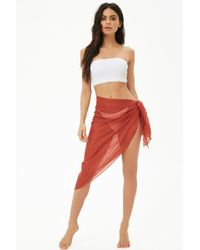 Forever 21 - Wrap Sarong Swim Cover-up - Lyst