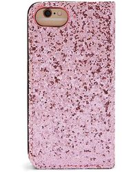 Forever 21 - Glitter Wallet Case For Iphone 6/6s - Lyst