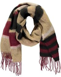Forever 21 Colorblock Oblong Scarf - Brown