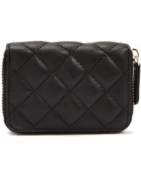 Forever 21 Quilted Coin Purse - Black