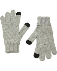 Forever 21 | Purl Knit Touchscreen Gloves | Lyst
