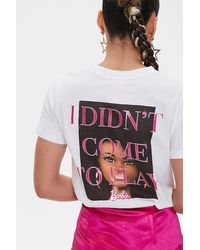 Forever 21 Barbietm Graphic Tee - White