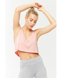 Forever 21 - Active Raw-cut Tank Top - Lyst