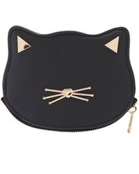 Forever 21 - Faux Leather Cat Coin Purse - Lyst