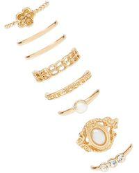 Forever 21 - Women's Ornate Ring Set - Lyst