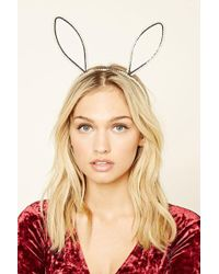 Forever 21 - Faux Pearl Bunny Ear Headband - Lyst