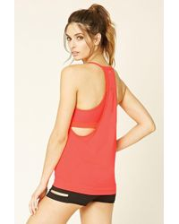 Forever 21 - Active Padded Tank - Lyst
