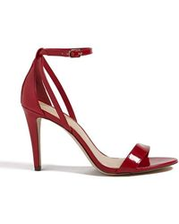 Forever 21 | Faux Patent Ankle-strap Heels | Lyst