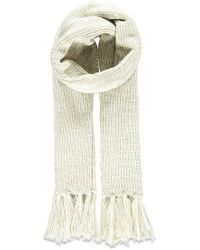 FOREVER21 - Fringed Cable Knit Scarf - Lyst