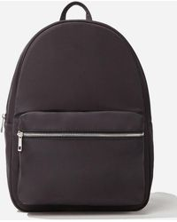 Forever 21 Zip-top Backpack , Black