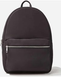 Forever 21 Zip-top Backpack - Black