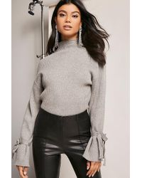 Forever 21 - Ribbed Sweater-knit Top - Lyst