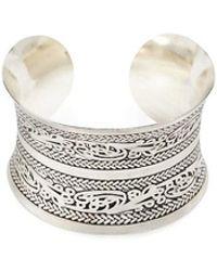 Forever 21 - Ornate Cuff Bracelet - Lyst