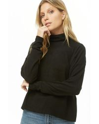 Forever 21 - Boxy Turtleneck Top - Lyst