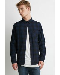 Forever 21 - Plaid Flannel Shirt - Lyst