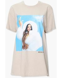 Forever 21 Rosalia Graphic Tee - Blue