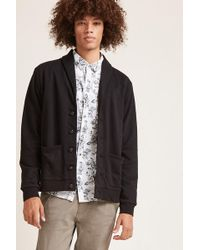 Forever 21 - Shawl-collar Buttoned Cardigan - Lyst