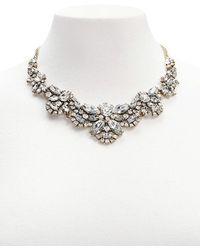Forever 21 - Diamante Bib Necklace - Lyst