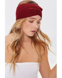 Forever 21 Ribbed Twisted Headwrap - Multicolor