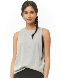 fd27daccb1a788 Forever 21 Sprite Cropped Tank Top in Green - Lyst
