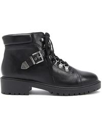 Forever 21 - Faux Leather Combat Boots - Lyst