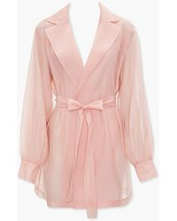 Forever 21 Tie-waist Wrap Co - Pink