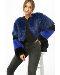 Forever 21 - Shaci Shaggy Faux Fur Jacket - Lyst
