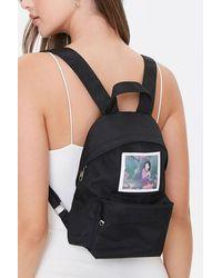 Forever 21 Mulan Graphic Backpack In Black