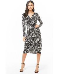 970c9a94051 Lyst - Forever 21 Plus Size Floral V-neck Dress