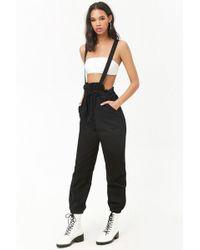 Forever 21 - Women's Oversized Suspender Trousers - Lyst