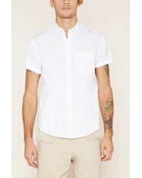 Forever 21 | Button-collar Shirt | Lyst