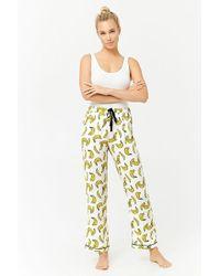 Forever 21 | Banana Print Pyjama Trousers | Lyst