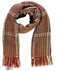 Forever 21 - Contrast Stitched Oblong Scarf - Lyst