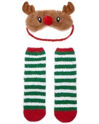 Forever 21 | Reindeer Mask & Socks Set | Lyst